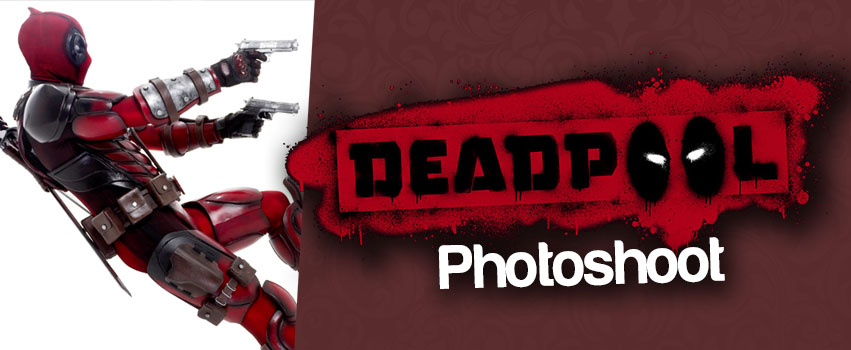 Deadpool Cosplay Photoshoot